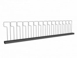 Steel guardrail systems 3d preview