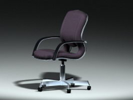 Office swivel chair 3d preview
