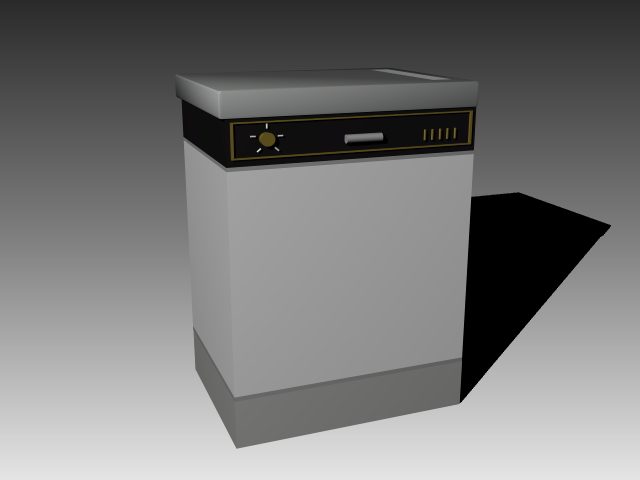 Electric cooking stove 3d rendering