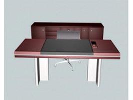 Executive desk sets 3d preview