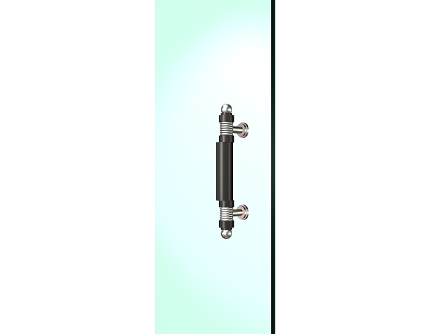 Door pull handle 3d rendering