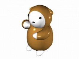 Cartoon koala bear 3d preview