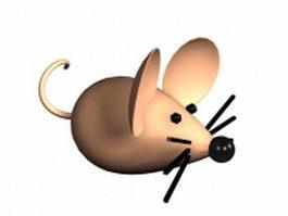 Cartoon mouse 3d preview
