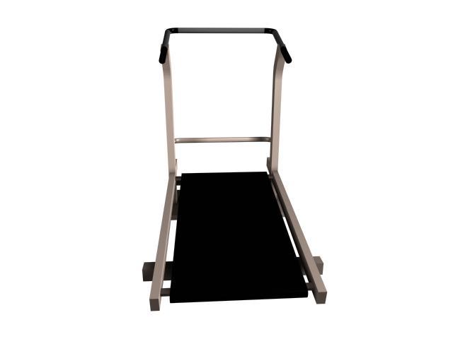 Treadmill running machine 3d rendering