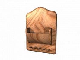 Bathroom towel hooks racks 3d preview