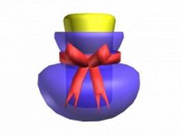 Decorative perfume bottle 3d model preview