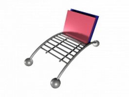 Metal folder holder 3d preview