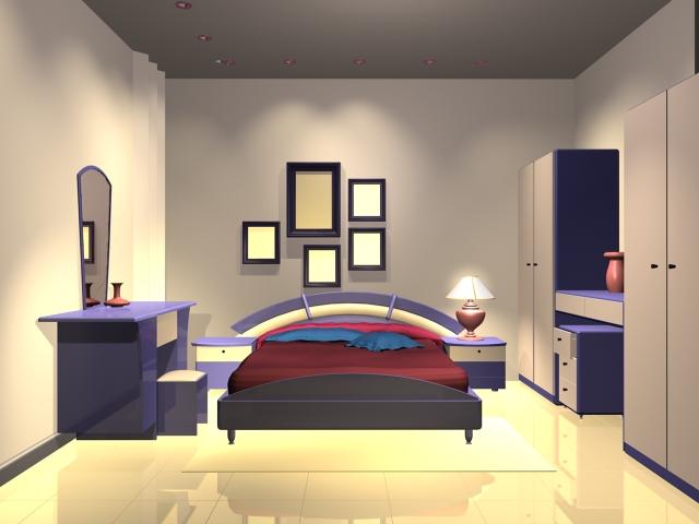Modern bedroom design 3d model 3dsMax files free download ... on Model Bedroom Interior Design  id=66551