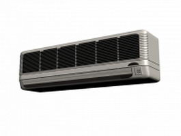 Wall split air conditioner 3d preview