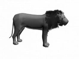 Greatest lion 3d model preview