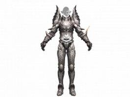 TERA castanic warrior 3d preview