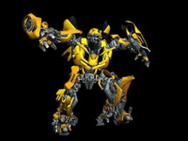 The Transformers Bumblebee 3d model preview