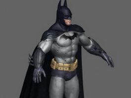 Batman character design 3d model preview