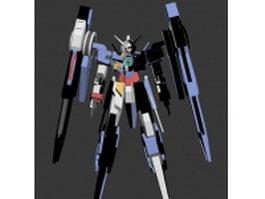 Mobile Suit Gundam AGE-2 3d preview