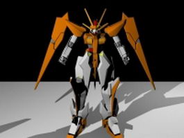 Mobile Suits Gundam 3d model preview