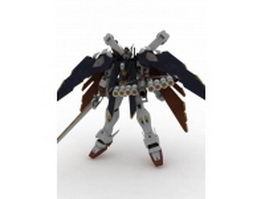 Crossbone Gundam X-1 Full Cloth 3d model preview