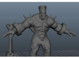 Mummy pharaoh character 3d preview