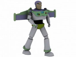 Buzz Lightyear 3d model preview