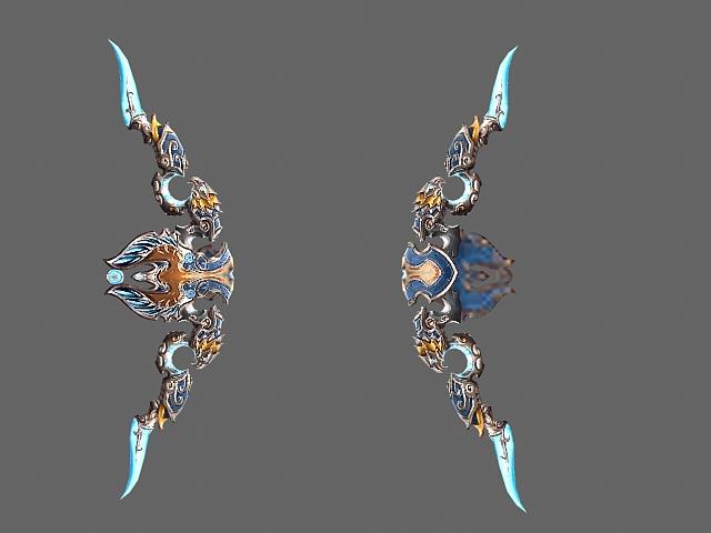 Legendary bow - Thori'dal, the Stars' Fury 3d rendering