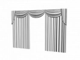 Drapes and valances 3d preview
