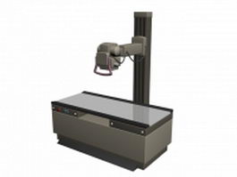 X-ray radiography machine 3d preview