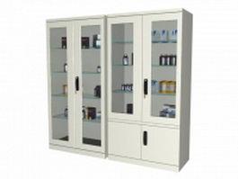Medicine cabinets 3d preview