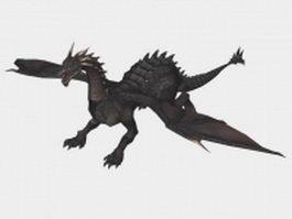 European dragon 3d preview