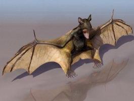 Disk-winged bat 3d model preview