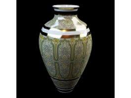 Interior decoration vase 3d model preview