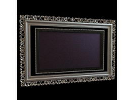 Digital photo frame 3d preview
