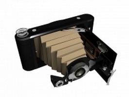 Vintage camera 3d model preview