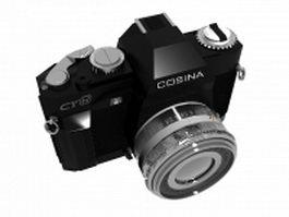 Cosina camera 3d model preview