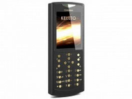 Gresso mobile phone 3d preview