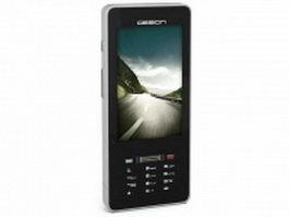 Generic smart phone design 3d preview