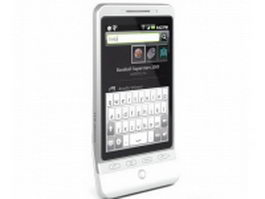HTC Hero G3 3d model preview