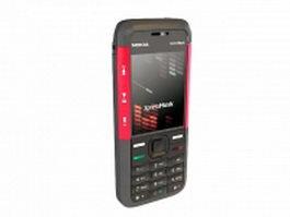 Nokia 5310 XpressMusic 3d model preview