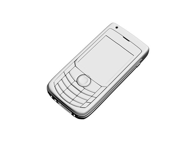 Low-end mobile phone 3d rendering