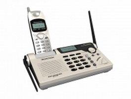 Panasonic cordless telephone 3d preview