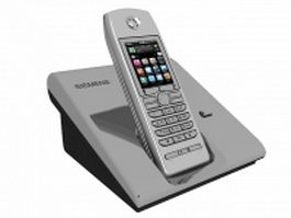 Siemens cordless phone 3d preview