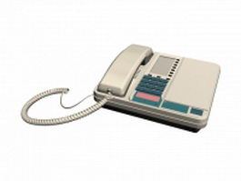 Desk telephone 3d preview