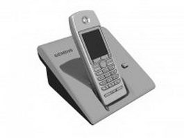 Siemens cordless telephone 3d preview