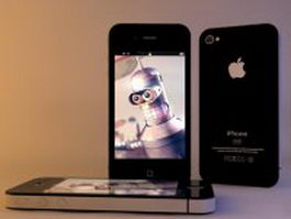 iPhone 4 3d preview