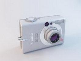 Canon Digital IXUS 400 3d preview