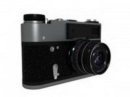 FED-5B camera 3d model preview