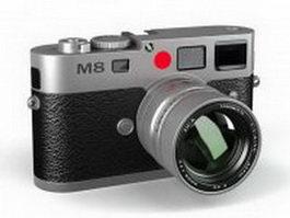 Leica M8 digital camera 3d preview