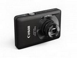 Canon Digital IXUS 100 IS 3d preview