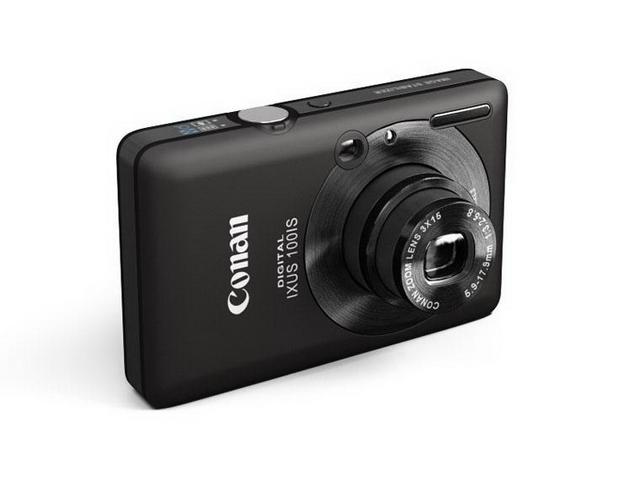 Canon Digital IXUS 100 IS 3d rendering