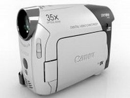 Canon ZR850 consumer camcorder 3d preview
