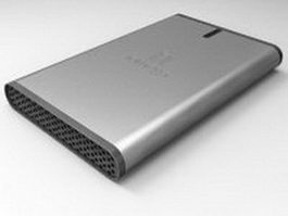 Iomega USB HDD 3d preview