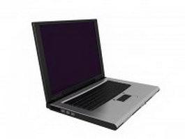Laptop computer 3d model preview